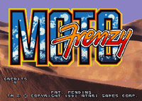 Video Game: Moto Frenzy
