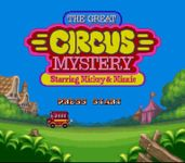 Video Game: The Great Circus Mystery starring Mickey & Minnie