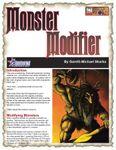 RPG Item: Monster Modifier