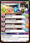 Board Game: Krosmaster: Arena – Cardboard Tube Samurai