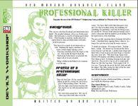 RPG Item: Professional Killer
