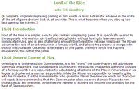 RPG Item: Lord of the Dice