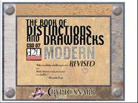 RPG Item: The Book of Distinctions & Drawbacks Modern Revised