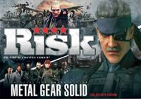 Board Game: Risk: Metal Gear Solid