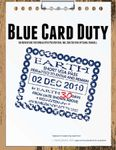 RPG Item: Blue Card Duty