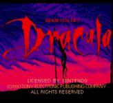 Video Game: Bram Stoker's Dracula