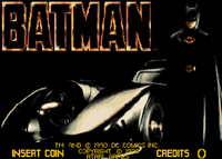 Video Game: Batman (1990/Arcade)
