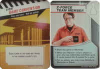 Board Game: Pandemic: Gen Con 2016 Promos – Z-Force Team Member/Game Convention