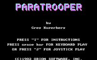 Video Game: Paratrooper