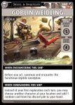 "Board Game: Pathfinder Adventure Card Game: Skull & Shackles – ""Goblin Weidling"" Promo Card"
