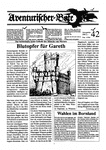 Issue: Aventurischer Bote (Issue 42 - 1992)