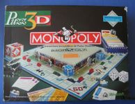 Board Game: Monopoly: Puzz 3D