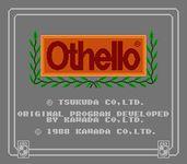 Video Game: Othello