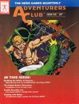 Issue: Adventurers Club (Issue 22 - Fall 1993)