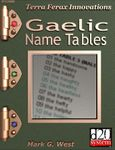 RPG Item: Gaelic Name Tables