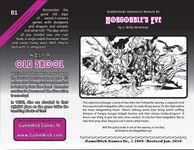 RPG Item: B1: Hobgobble's Eve