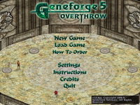 Video Game: Geneforge 5: Overthrow