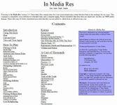 RPG Item: In Media Res