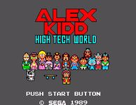 Video Game: Alex Kidd: High-Tech World