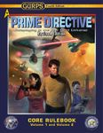 RPG Item: GURPS Prime Directive Revised Core Rulebook Volume 1 and Volume 2