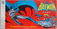 Board Game: Batman Game: The Adventures of the Caped Crusader