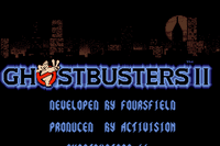 Video Game: Ghostbusters II