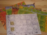 Board Game Accessory: Agricola: The 5 Designer Boards
