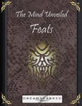 RPG Item: The Mind Unveiled: Feats