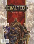 RPG Item: Exalted Second Edition Character Sheet Pad