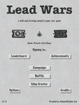 Video Game: Lead Wars