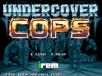 Video Game: Undercover Cops