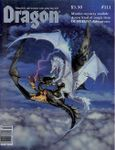 Issue: Dragon (Issue 111 - Jul 1986)