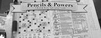 Board Game: Pencils & Powers