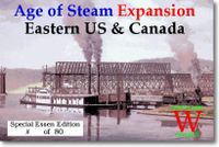 Board Game: Age of Steam Expansion: Eastern US & Canada