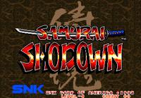 Video Game: Samurai Shodown (1993)
