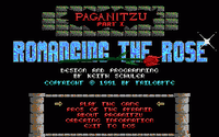 Video Game: Paganitzu