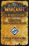 Board Game: World of Warcraft: The Boardgame – BlizzCon Epic Armor Pack