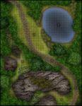 RPG Item: VTT Map Set 217: Forest Trail Environment