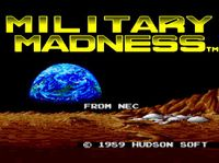Video Game: Military Madness