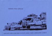 Board Game: Grand Prix Circus