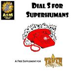 RPG Item: Dial S for Superhumans