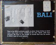 Board Game: Bali