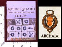RPG Item: Mouse Guard RPG Dice Set