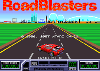Video Game: RoadBlasters