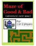 Board Game: Maze of Good & Bad