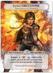 Board Game: Ashes: Lulu Firststone Promo Card