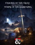 RPG Item: Visions of the Vault: One Page Dungeons: Temple of the Lizard King