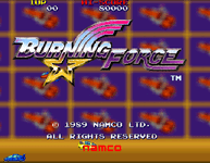 Video Game: Burning Force