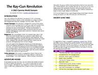 RPG Item: The Ray-Gun Revolution