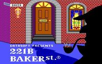 Video Game: 221B Baker St.
